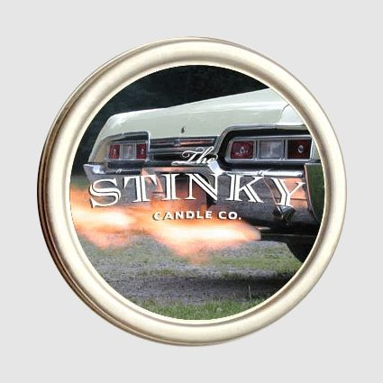 Car Exhaust Candle 4 Oz Stinky Candle Co